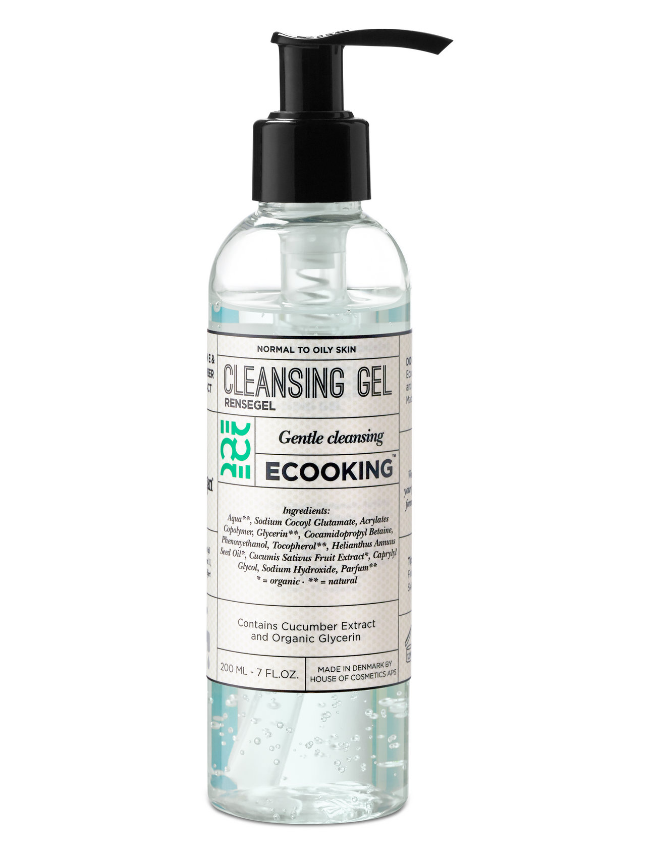 Ecooking Cleansing gel - CLEAR