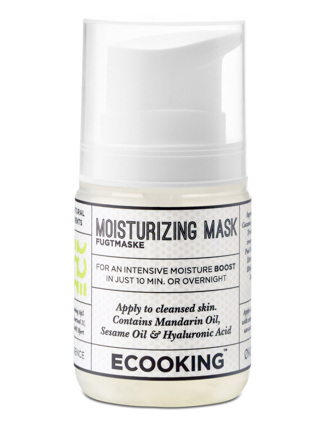 Ecooking Moisture mask - CLEAR