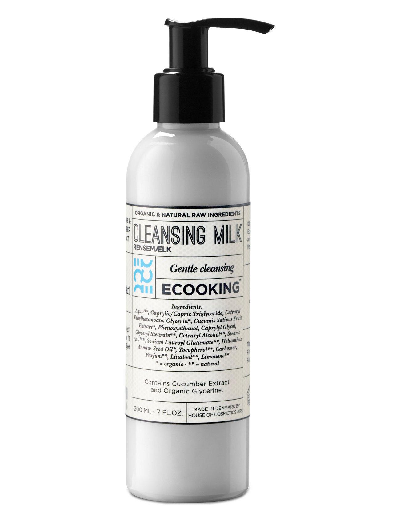 Image of Cleansing Milk Ansigtsrens Makeupfjerner Nude ECOOKING (3131508363)