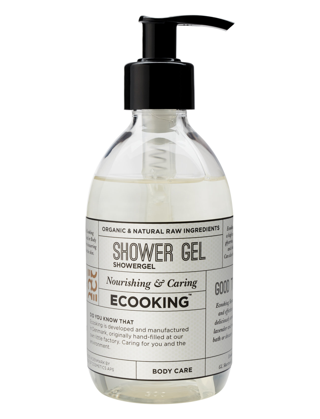 Ecooking Shower Gel - CLEAR