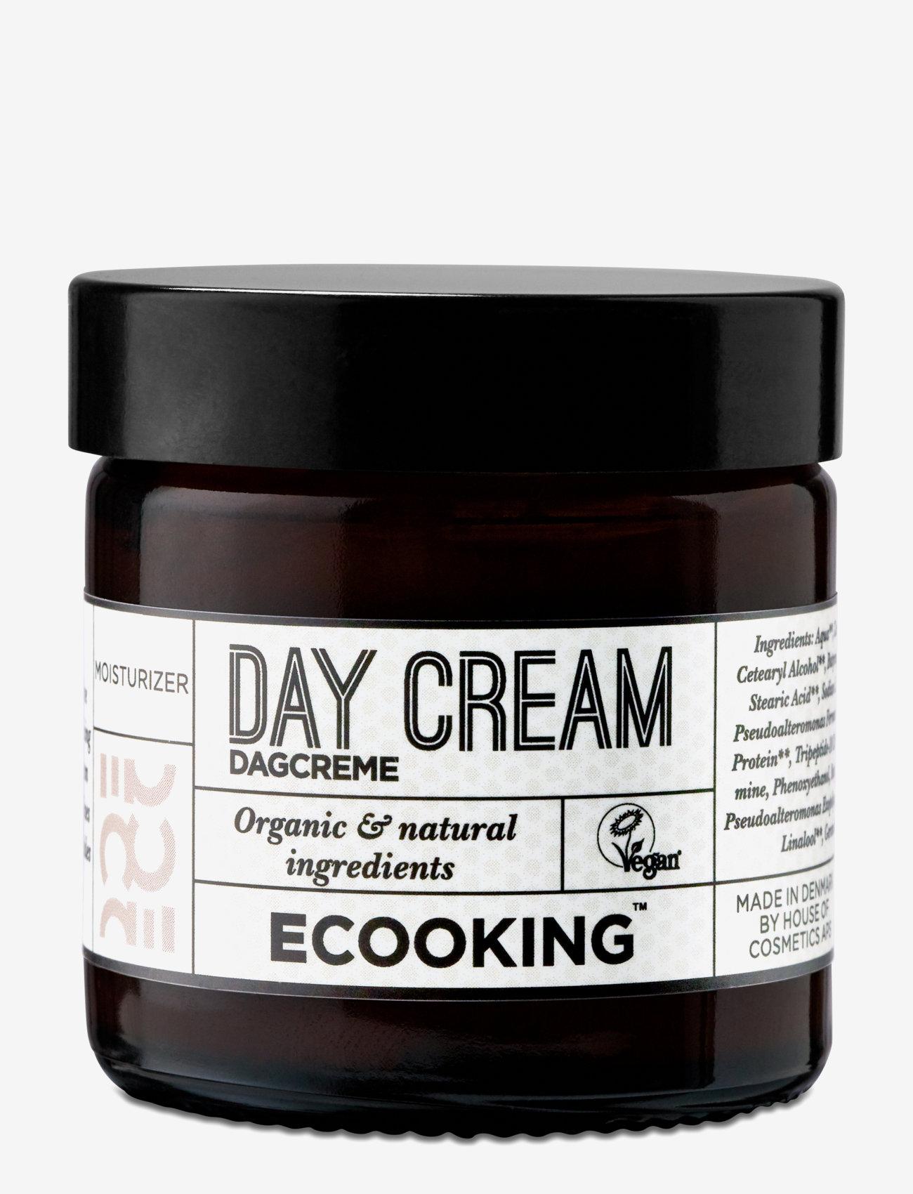 Ecooking - Day Cream - päivävoiteet - clear - 0