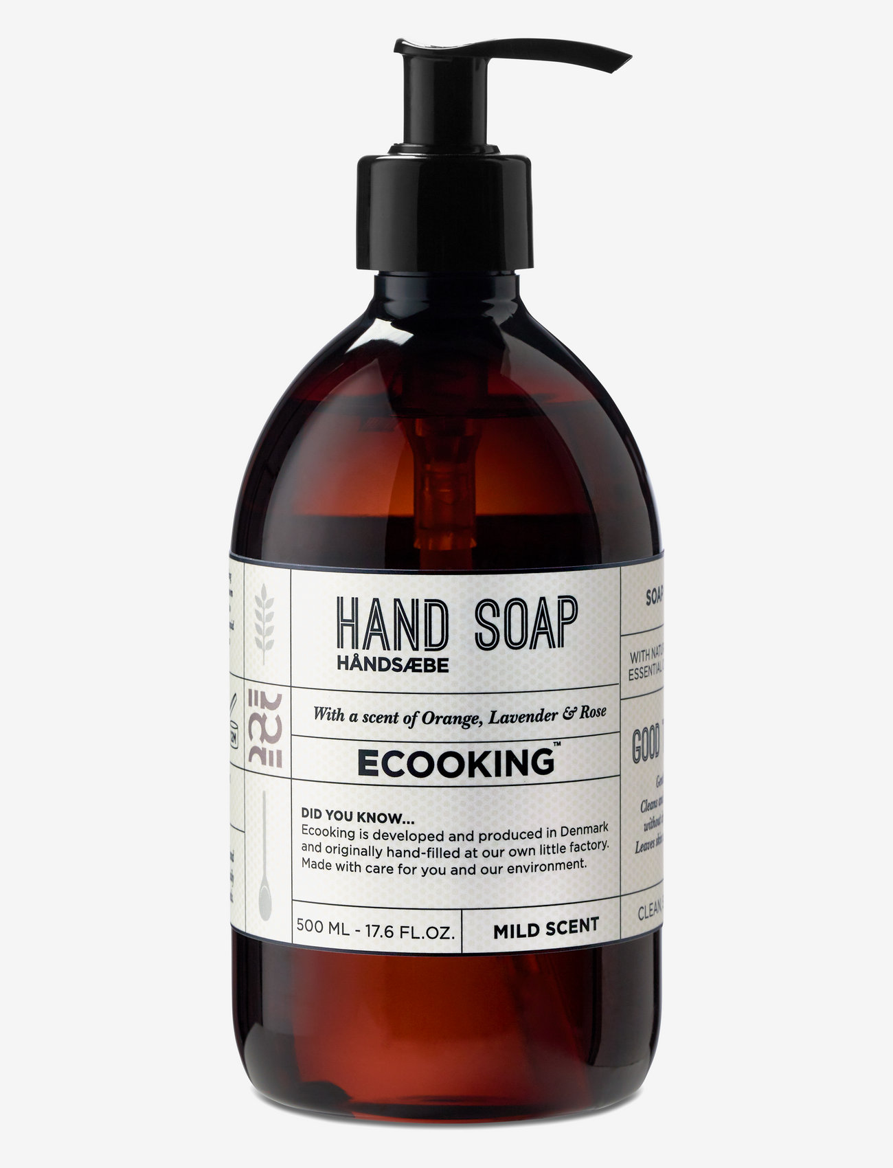 Ecooking - Hand soap - handtvål - clear - 0