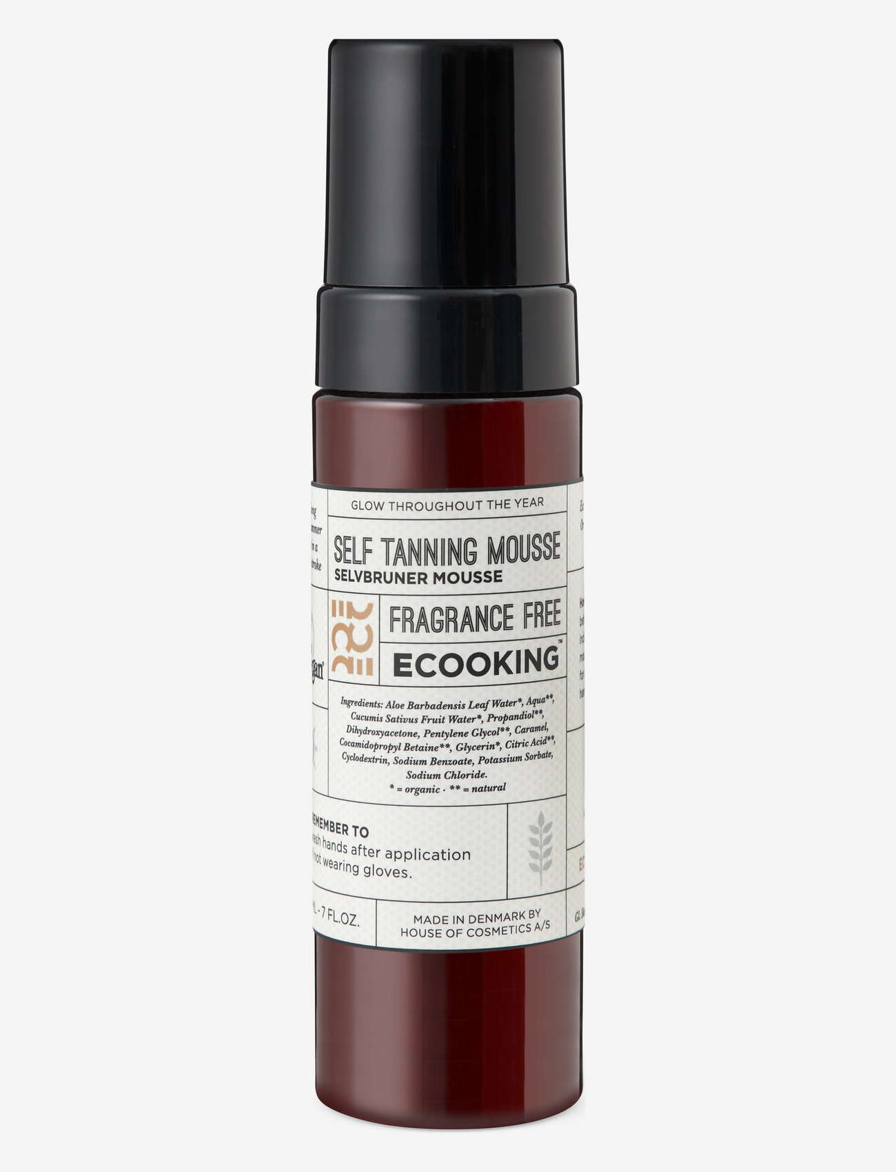 Ecooking - Ecooking Self Tanning Mousse - tanning - no colour - 0