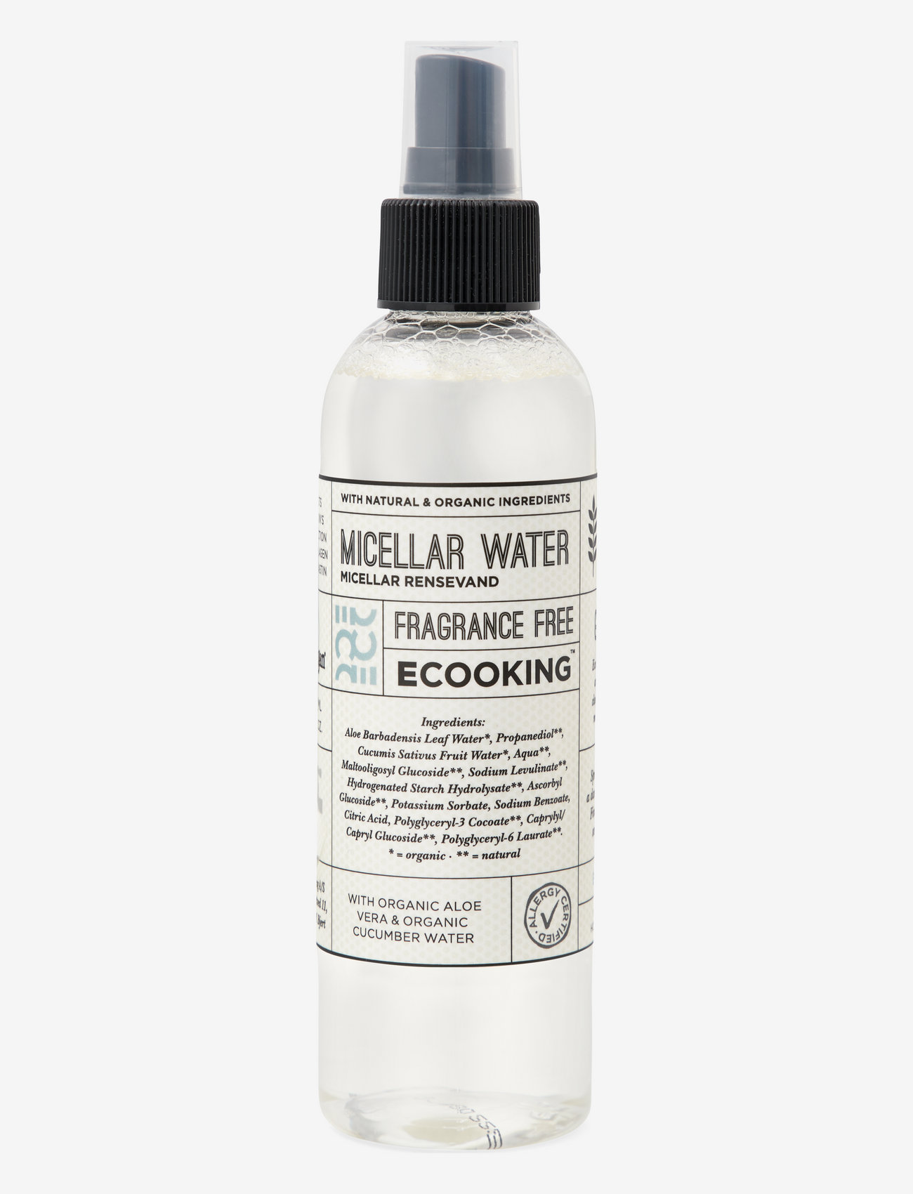 Ecooking - Ecooking Micellar Water - makeupfjerner - no colour - 0