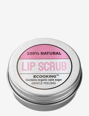 Ecooking - Lip Scrub - läppvård - clear - 0