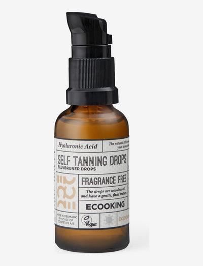 Self Tanning Drops - brun utan sol - no color