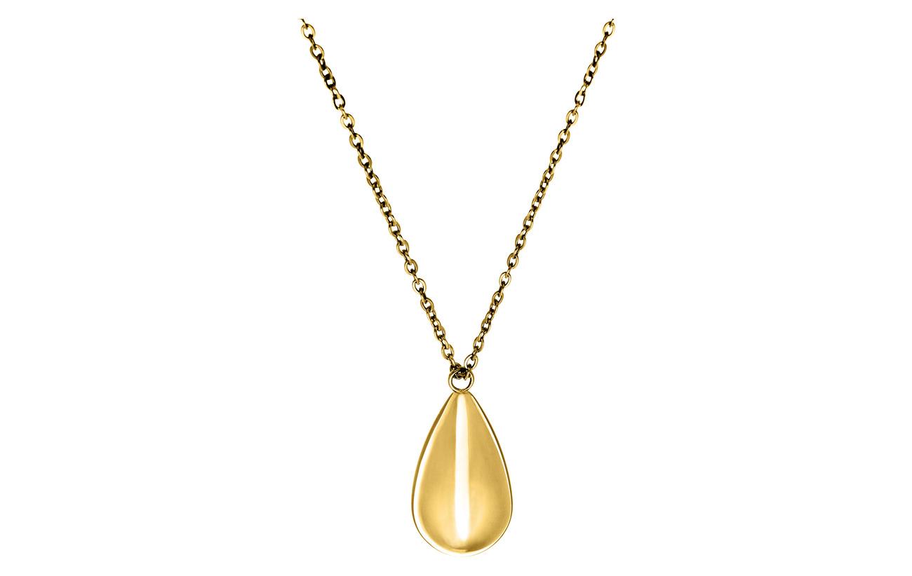 Edblad Drop Necklace Gold - GOLD