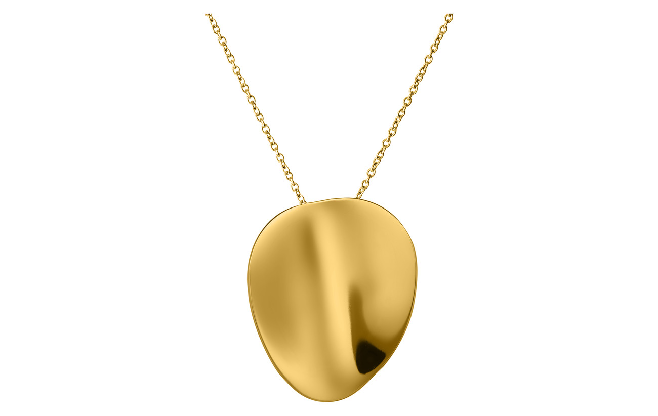 Edblad Pebble Necklace Long Gold - GOLD