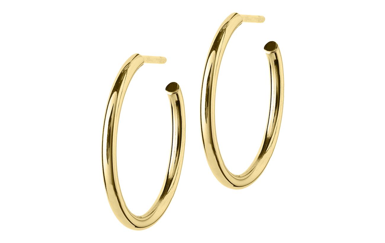 Edblad Hoops Earrings Gold Medium - GOLD