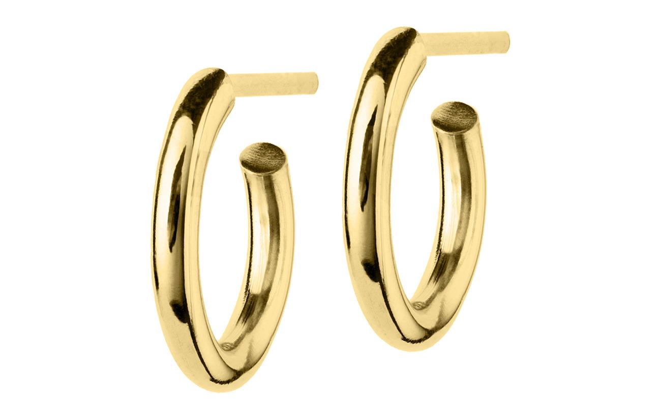 Edblad Hoops Earrings Gold Small - GOLD