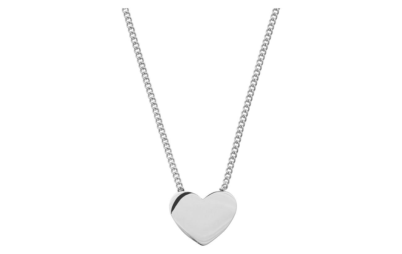 Edblad Pure Heart Necklace Steel Smycken