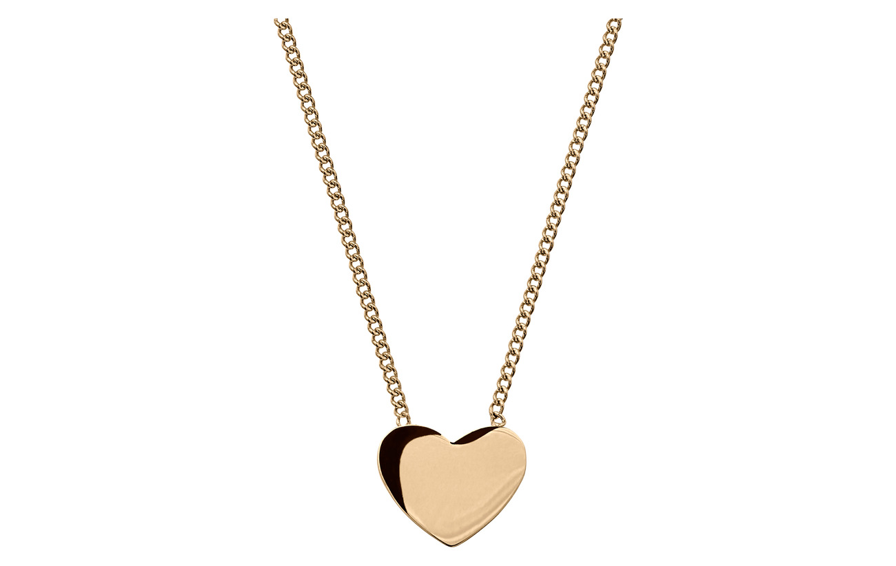 Edblad Pure Heart Necklace Gold - GOLD
