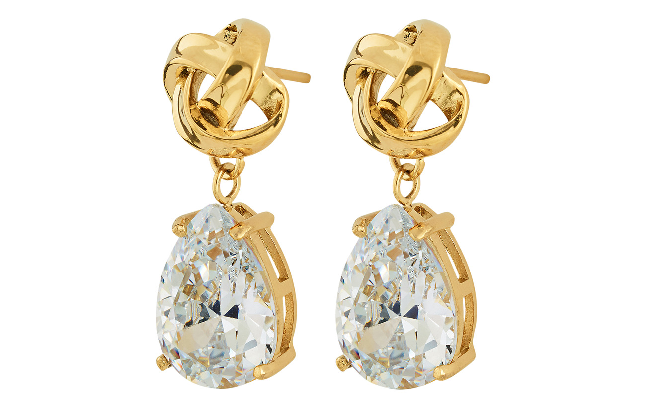 Edblad Gala Earrings cz - GOLD