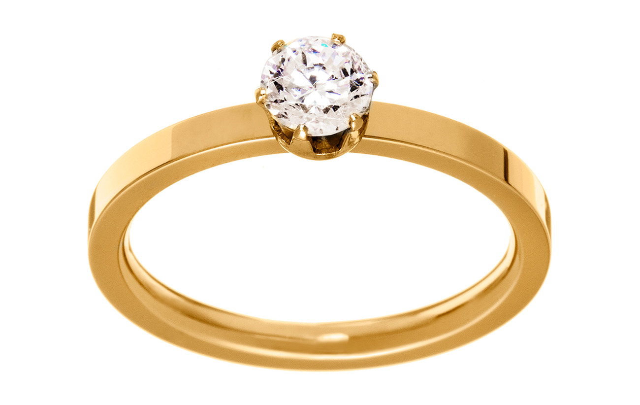Edblad Crown Ring Gold - GOLD