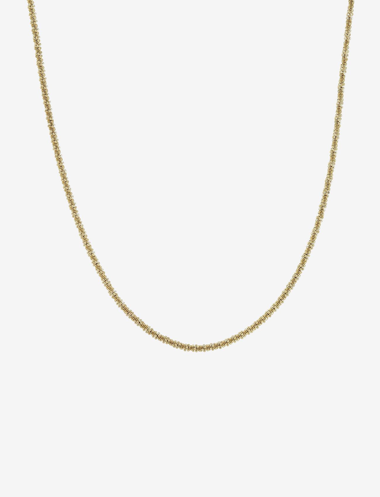Edblad - Tinsel Necklace - dainty - gold - 0