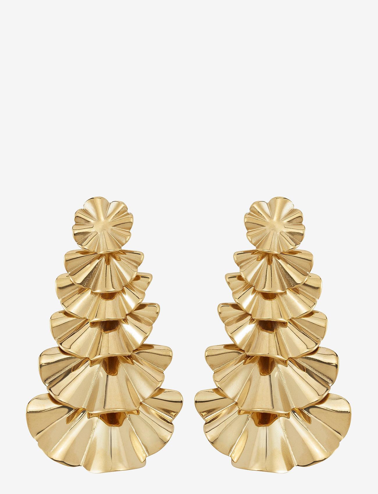 Edblad - Soaré Earrings Multi - statement earrings - gold - 0