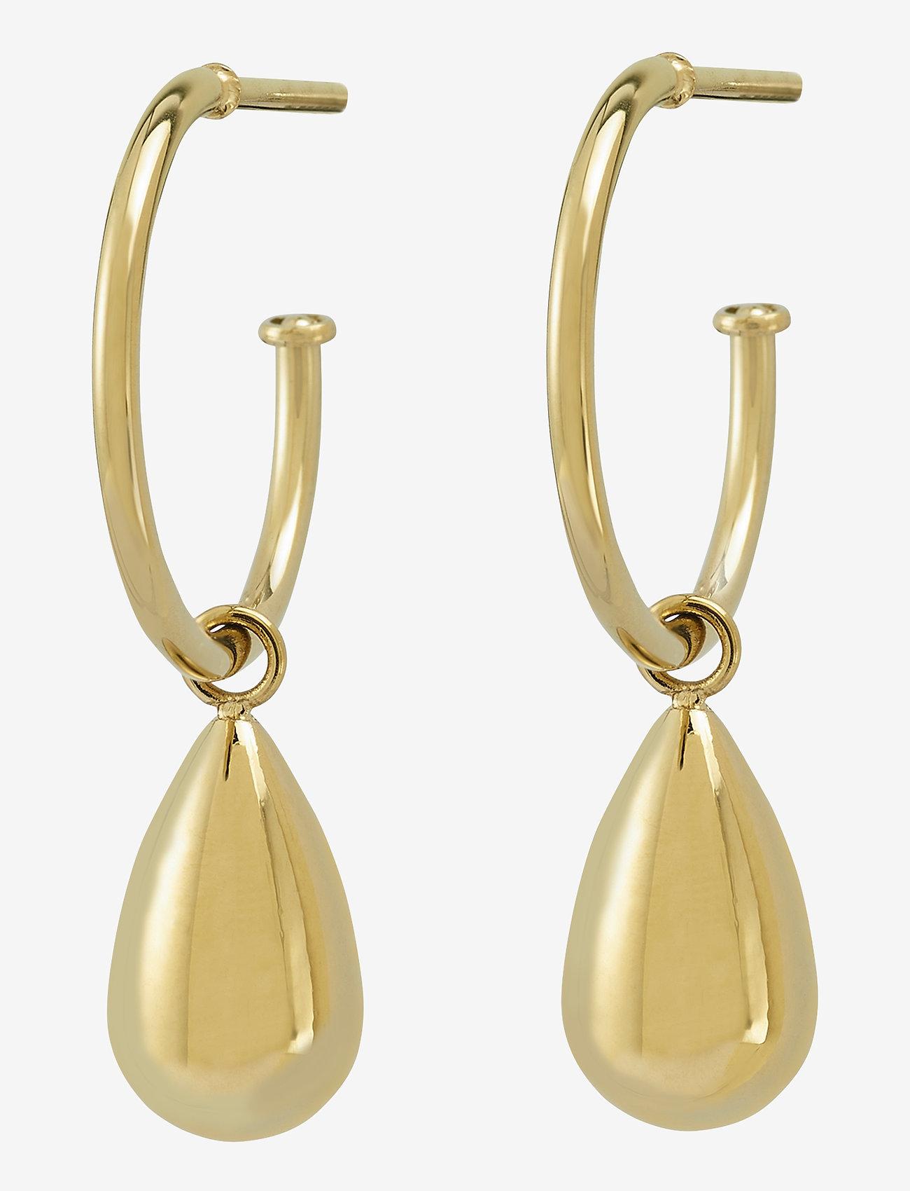 Edblad - Drop Mini Earrings - oorhangers - gold - 0