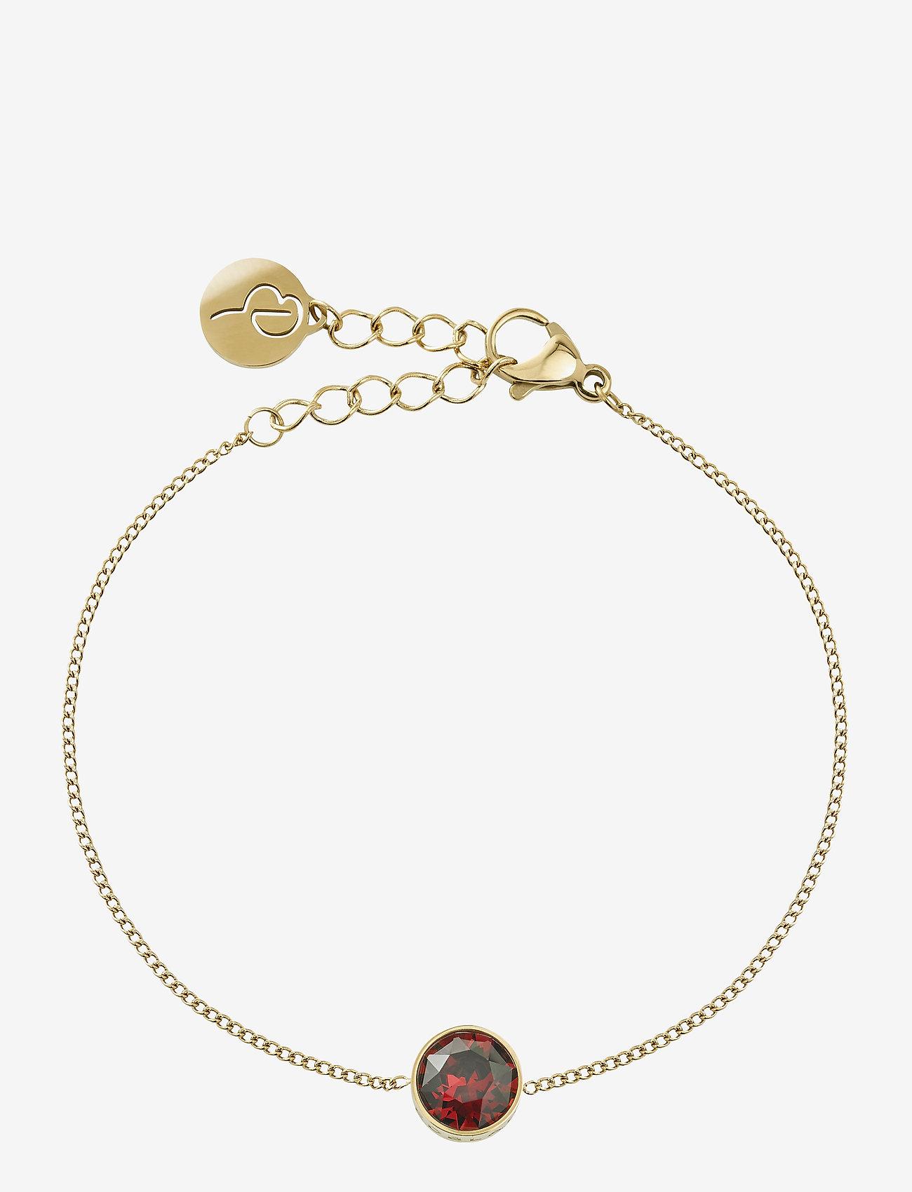 Edblad - Diana Bracelet Plum - dainty - gold - 0