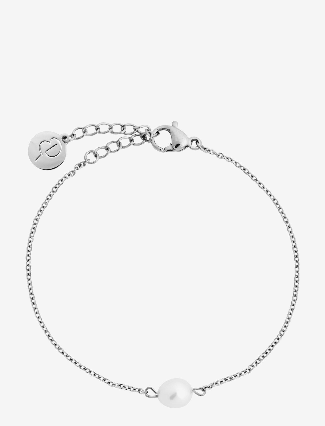 Edblad - Perla Bracelet Steel - dainty - steel - 0
