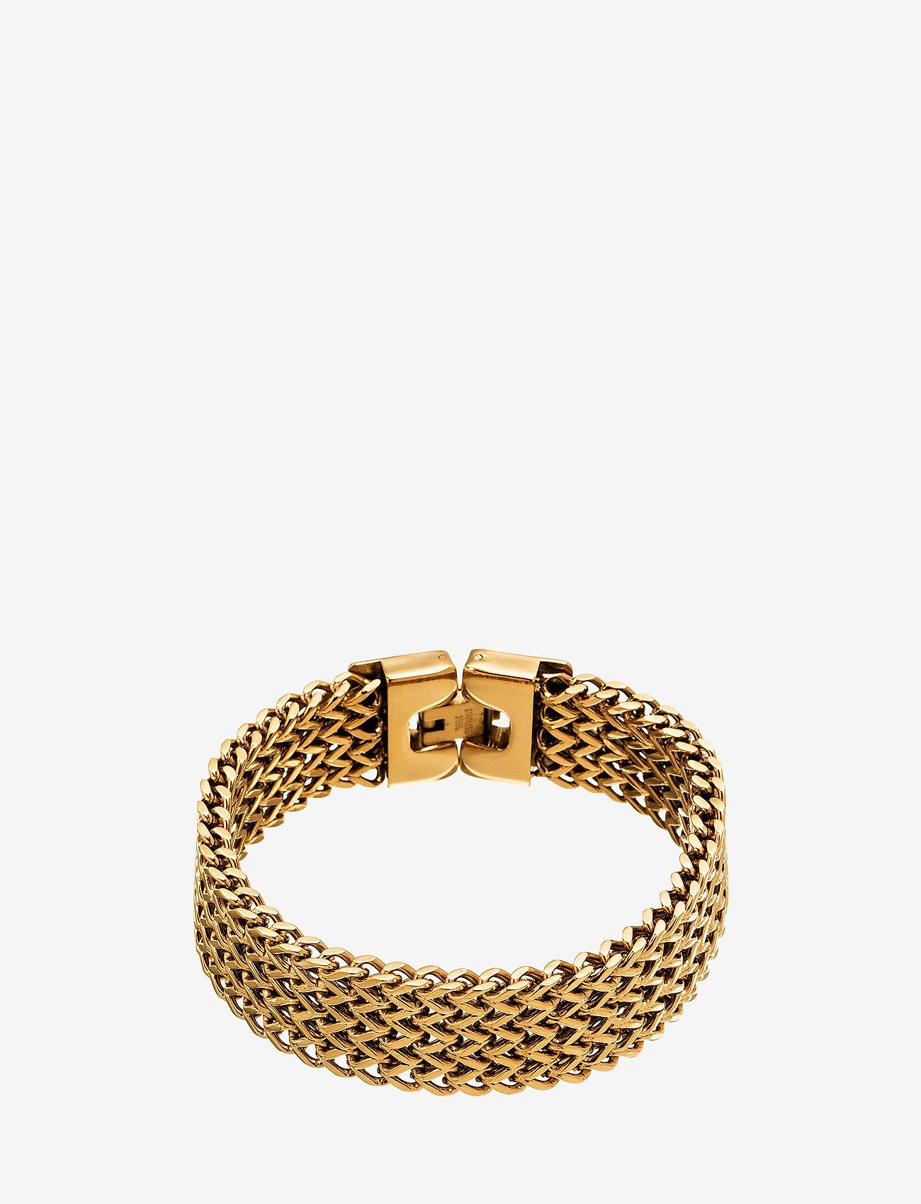 Edblad - Lee Bracelet Gold - dainty - gold - 0