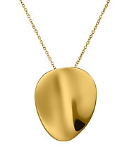 Pebble Necklace Long Gold - GOLD