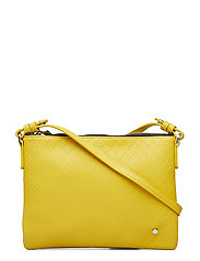 Irene Small Bag Tiles Embossed Mustard - MUSTARD