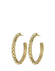 Peak Creole Earrings - GOLD