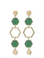 Sapphire Earrings Maxi Harmony - GOLD