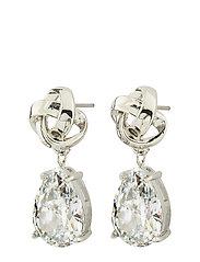 Gala Earrings cz - STEEL