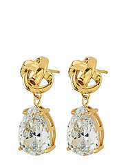 Gala Earrings cz - GOLD