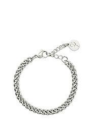 Lourdes Chain Bracelet - STEEL