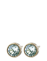 Diana Studs Pool Blue Crystal Gold - GOLD