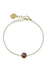 Diana Bracelet Plum - GOLD