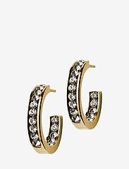 Edblad - Andorra Earrings Mini Gold - studs - gold - 0