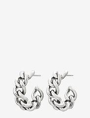 Edblad - Lourdes Chain Creole - hoops - steel - 0