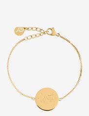 Edblad - Unite Bracelet Gold - dainty - gold - 0