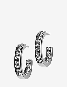 Andorra Earrings Mini Steel - STEEL