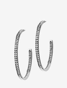 Andorra Earrings Large Steel - STEEL