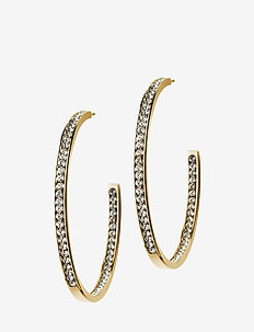 Andorra Earrings Large Gold - GOLD