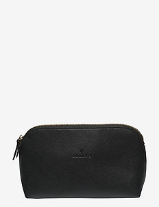 Travel Makeup Bag Black - BLACK