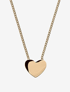 Pure Heart Necklace Gold - dainty necklaces - gold
