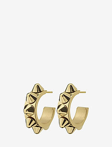Peak Creole Earrings - GOLD