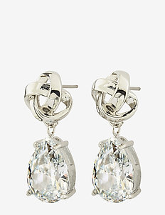 Gala Earrings cz - STEEL