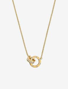 Ida Necklace Mini - kettingen met hanger - gold