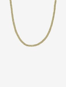 Lourdes Chain Necklace - dainty necklaces - gold
