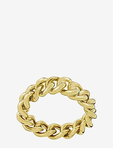 Lourdes Chain Ring - GOLD