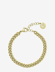 Lourdes Chain Bracelet - dainty - gold