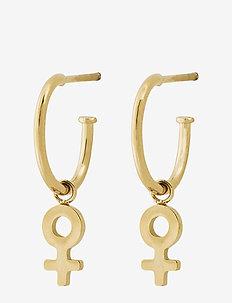 Me Mini Earrings Gold - GOLD