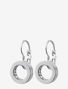 Monaco Earrings French Hook - pendant - steel