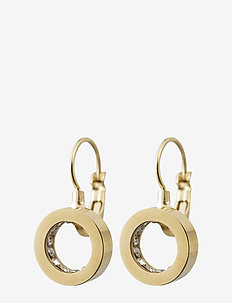 Monaco Earrings French Hook - pendant - gold